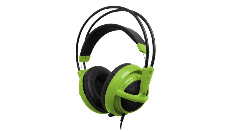 Steelseries Siberia v2 Full-size PC Headset (Groen)