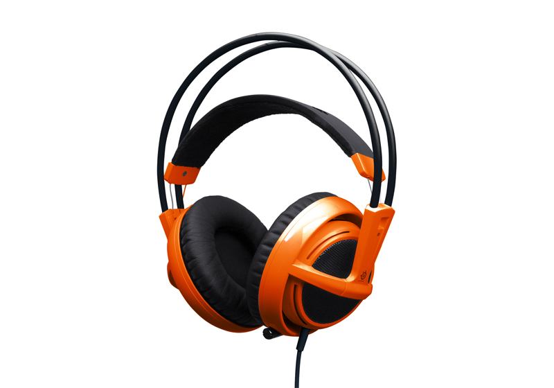 Steelseries Siberia v2 Full-size PC Headset (Orange)