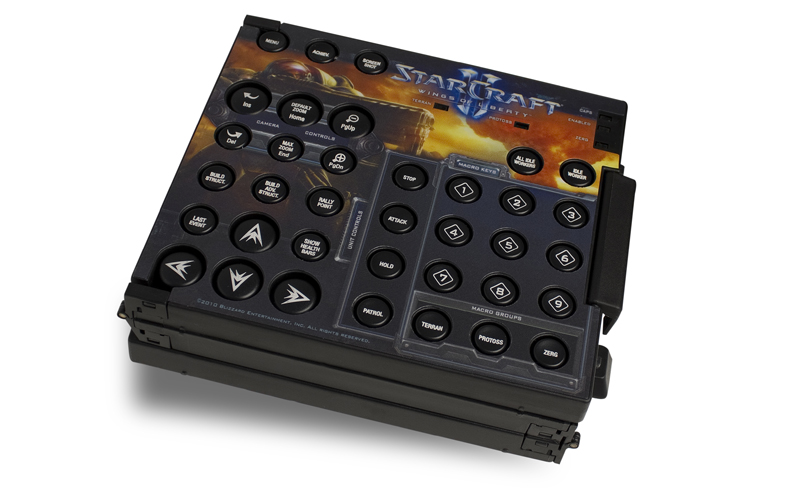 SteelSeries Zboard LE (Starcraft2) Keyset - QWERTY  (UK)