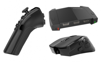 Mouse controller for ps4