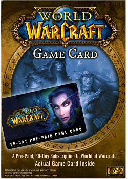 - Warcraft: World of Warcraft PrePaid Card (EU)