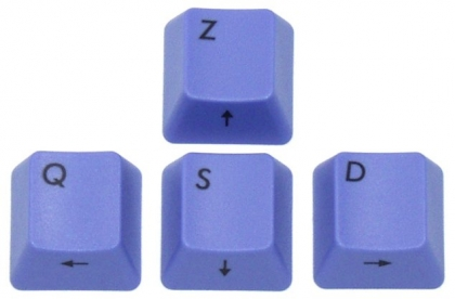 Filco ZQSD keys - Azerty (FR)