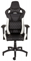 Corsair T1 RACE Gaming Chair - Black / White