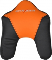 DXRacer - HEADREST CUSHION 11-NO Hoofdsteun (Zwart / Oranje)