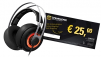 SteelSeries Siberia 650 Headset Black + Tegoedbon 25 EUR