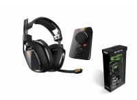 Astro A40 TR Audio System Black + Mod Kit Green