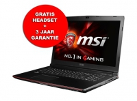 MSI GP72 2QE-057BE - GTX950M - i7- 8GB - 1TB