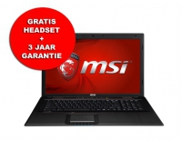 "MSI GP70 2PE-258BE Leopard 17.3"" i5-4210 8GB 750GB 840M"