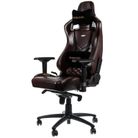 Noblechairs EPIC Series – Brown/Black (Echt leder)