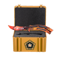 Cutss Howl Flame + Gamma Case (training knife)