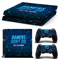 Playstation Console Skin - Gamers (PS4)