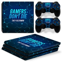 Playstation Console Skin - Gamers (PS4 Pro)