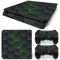 Playstation Console Skin - Hex Lime (PS4 Slim)