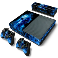 Xbox One Console Skin - Fire Skull (Xbox One)