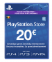 PlayStation Network Voucher Hang Card 20EUR BE (PS4/PS3/PSV)