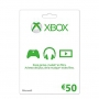 Xbox LIVE Gift Card €50