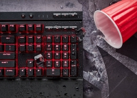 Corsair K68 Cherry MX Red Gaming Keyboard - AZERTY (BE)