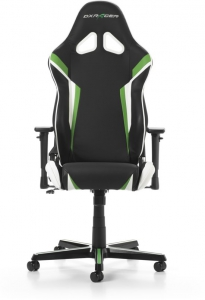 DXRacer - RACING R288-NEW Gaming Chair (Zwart / Groen / Wit)