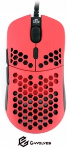 G-Wolves Hati Gaming Mouse - red