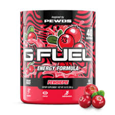 GFUEL PewDiePie (Lingonberry) Tub (40 servings)