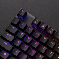 HyperX Alloy RGB Kailh Speed Silver - QWERTY (US)