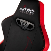 Nitro S300 GAMING CHAIR –  Inferno Red