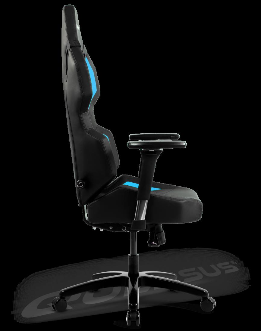 Quersus Evos 302 Gaming Chair Black Blue Gamegear Be
