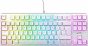 Xtrfy K4 TKL Mechanical Keyboard - Qwerty (US) - white