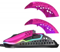 Xtrfy M42 RGB gaming mouse (pink)
