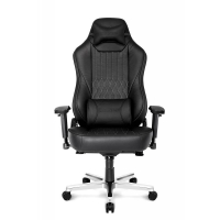 AKRACING ONYX Full Leather Gaming Chair (Zwart)