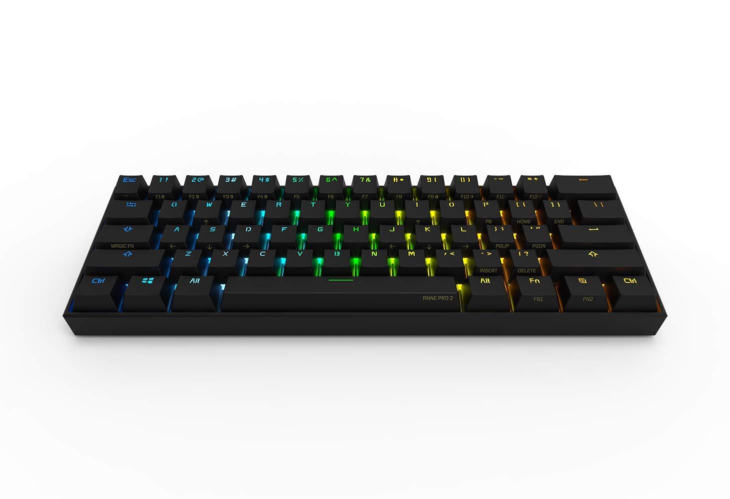 Anne Pro 2 Gateron Red Gaming Keyboard Us Layout