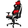 Noblechairs EPIC Series – Black/White/Red  (Real Leather)