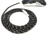 GG Modz Paracord Mouse cable + skates - Black & White