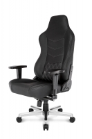 AKRACING ONYX Full Leather Gaming Chair (Black)