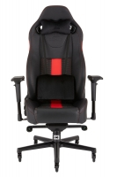Corsair T2 ROAD WARRIOR Gaming Chair - Black / Red