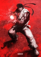 Displate - Ryu (Street Fighter)