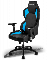 Quersus GEOS 702 Gaming Chair (Black/Blue)
