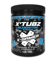 X-Gamer Blue Nitro Flavour Energy Drink - 60 Serving X-Tubz