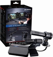 Avermedia Streamer Starter Kit Basic (Mini + Mic + Cam)