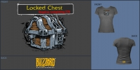 Compad WoW Locked Chest Girly