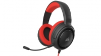 Corsair - HS35 Stereo Gaming Headset - Red