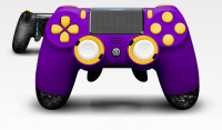 Scuf Gaming Infinity SPECTRUM 4PS Purple (PS4) + FULL KIT