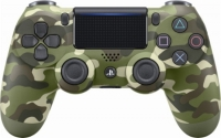 Sony Dualshock Controller V2 - Wireless Green Camo (PS4)