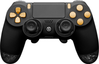 Scuf Gaming Black & Gold Infinity 4PS  (PS4) + DIGITAL FULL KIT