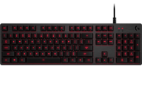Logitech G413 Carbon Red Mechanical Keyboard - Azerty (FR)