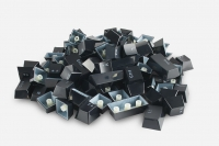 Glorious Keycaps 104st ISO FR layout (black)