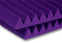 Auralex Studiofoam Wedge panel 5.08 cm halfsize dark purple