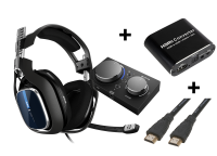 ASTRO A40 TR + MixAmp PS5 Bundle (inc adapter & cable)