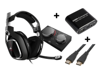 Astro A40 TR + MixAmp Pro Xbox X bundle (inc adapter + cable)