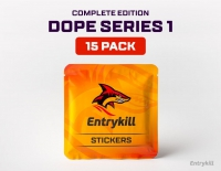 CS:GO Dope Stickers: Series 1 (Complete edition) 15 Pack
